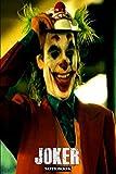 """Joker: DC Batman Joaquin Phoenix Themed Notebook Journal 6"""" x 9""""..."""