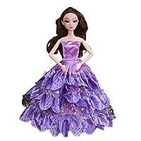 ASDSH リカちゃん服 ゆめいろ ドレス お姫様 バービードレス 子供の日 可愛い 綺麗