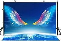 HD 10x7ft夢の翼の背景の夢上昇の夢の翼の写真の背景の写真スタジオの背景の小道具LYGE932