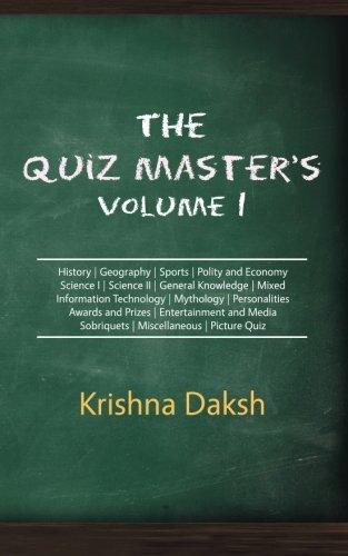 The Quiz Master's Volume I