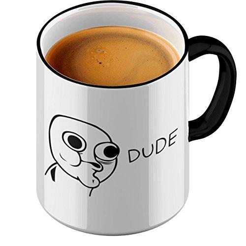 Funtasstic Tasse Dude - Kaffeepott Kaffeebecher by StyloTex