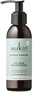 Sukin Blemish Control Oil Free Moisturiser, 125ml