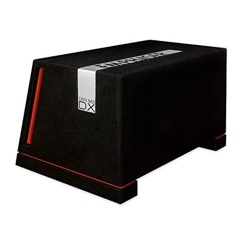 EMPHASER EBR-M8DX: Druckvoller 20 cm / 8 Zoll Subwoofer, Bass Box fürs Auto, MDF Bassreflex Gehäuse bestückt mit High-Performance Woofer (2 x 2 Ohm Doppel Schwingspule), 1000 W