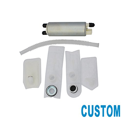 CUSTOM 1pc New Electric Intank Fuel Pump With Installation Kit For Buick Pontiac Cadillac GMC Oldsmobile HFFS380