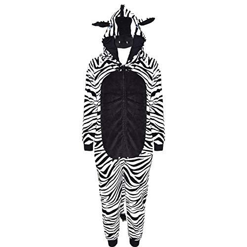 A2Z 4 Kids® Bambini Ragazze Ragazzi Morbido Fluffy Animale - E.S Zebra 11-12