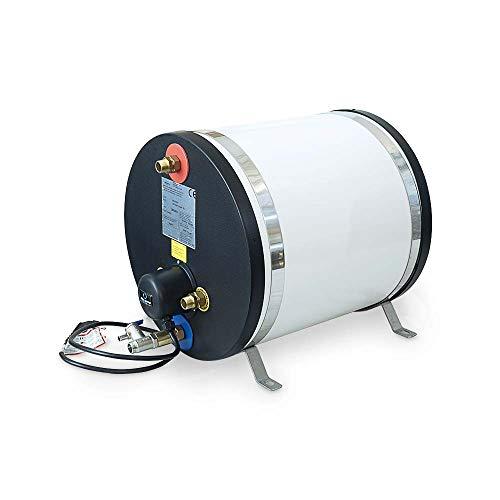 Albin Pump - Calentador de Agua Caliente eléctrico (Acero Inoxidable, 30 L)