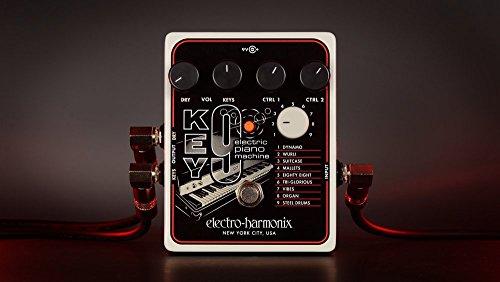 Electro Harmonix 665234 - Guitarra eléctrica con sintetizador de filtro Key 9 Piano Máquina