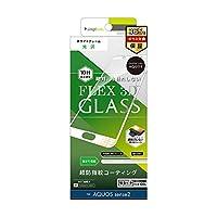 Simplism (シンプリズム)AQUOS sense 2 [FLEX 3D] 立体成型フレームガラス ホワイト TR-AQS2-G3-CCWT