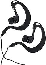 SoundLogic XT Athletic Waterproof & Sweatproof Sport In-Ear Earbuds, Black