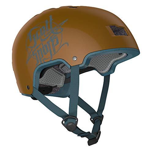 Scott Jibe BMX Dirt Fahrrad Helm braun 2020: Größe: M/L (57-62cm)