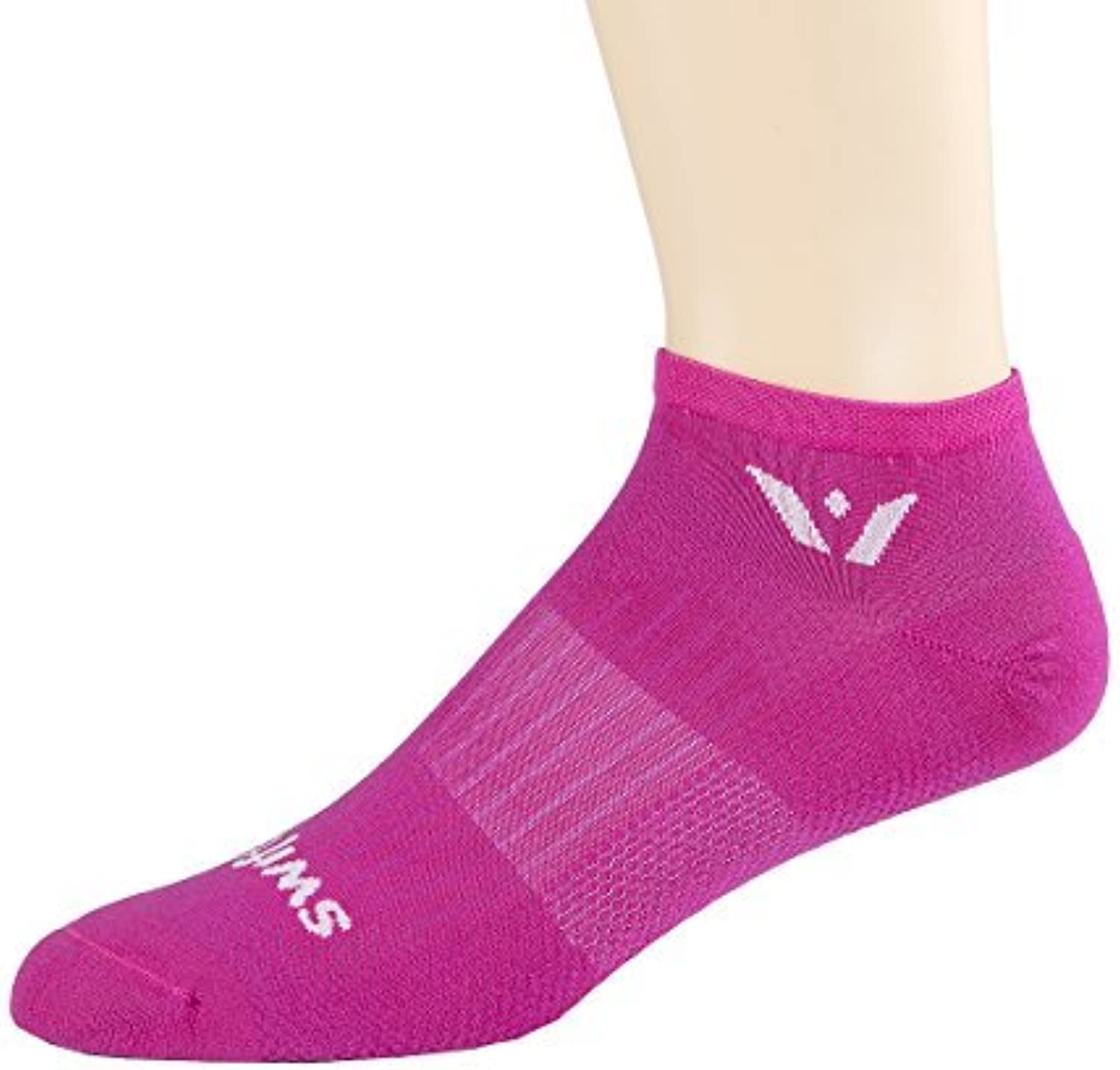 Swiftwick Aspire Socks, Pink, Small by Swiftwick