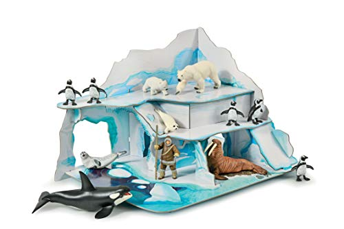 Papo The Ice Field Playset  Multicolor