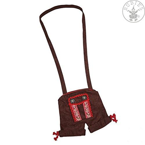 Rubie's Trachten Handtasche Lederhose braun Einheitsgröße