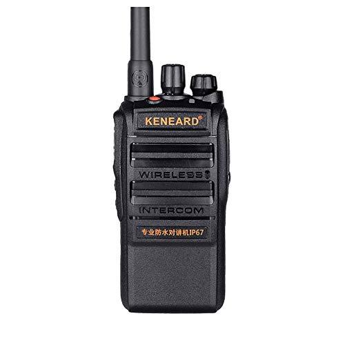 Impermeable walkie-talkies, radios de mano de alta potencia-portátil al aire libre Pequeño Walkie-Talkie 16 canales almacenados eléctrico terremoto de walkie-talkie, Envío de ultramar / Water Rescue