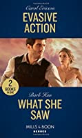 Evasive Action / What She Saw: Evasive Action (Holding the Line) / What She Saw (Rushing Creek Crime Spree) (Heroes)