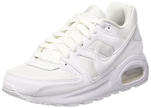 Nike Air Max Command Flex, Zapatillas para Niños, Blanco (White / White /  White), 37.5 EU