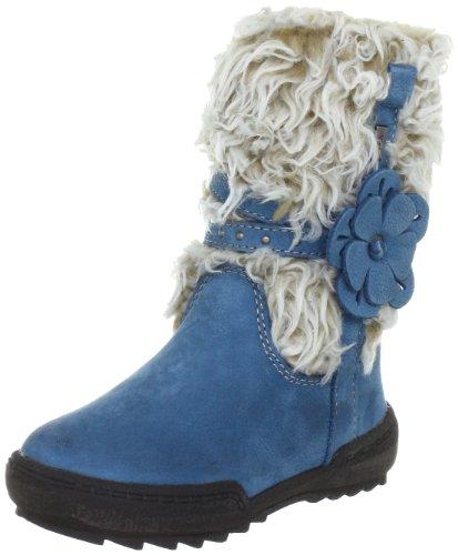Lurchi Lola 03-04603, Boots fille - Bleu (Blau), 25 EU