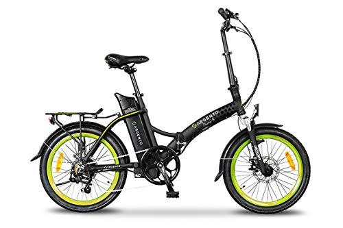 Argento Bike - Piuma-S Gialla 2020 (E-Bike Pieghevole).
