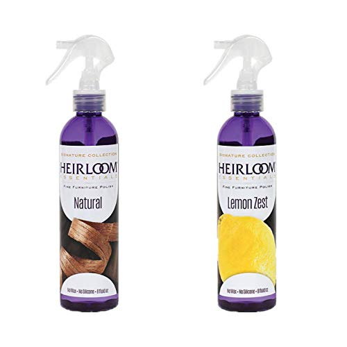 Heirloom Essentials Furniture Deluxe Polish 2-Pack Combo Unsce Natural discount