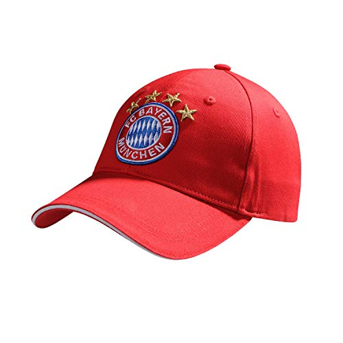 FC Bayern München Kids Baseballcap rot - Logo - weißes Frontpanel Cap, Schildmütze, Kappe FCB