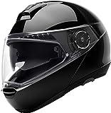 SCHUBERTH C4 Pro Negro Brillante Modulares Casco De Motocicleta Tamano XL