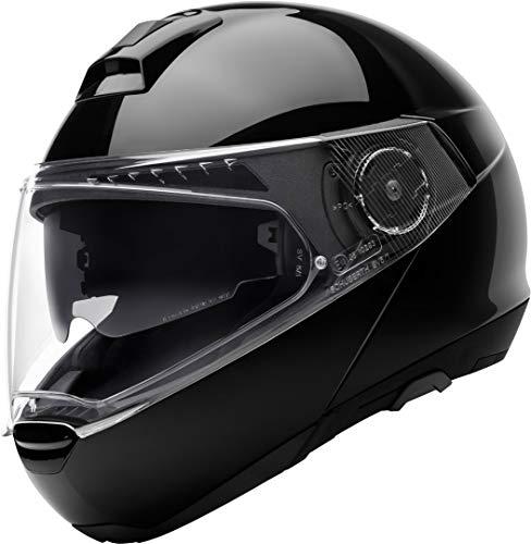 SCHUBERTH C4 Pro Motorradhelm, Schwarz (Glossy Black), 59 (L)