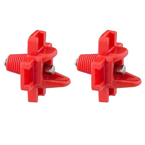 Yardwe - Zubehör für Wildvogeltränken in rot, Größe 3,2 x 3,2 x 3,2 cm