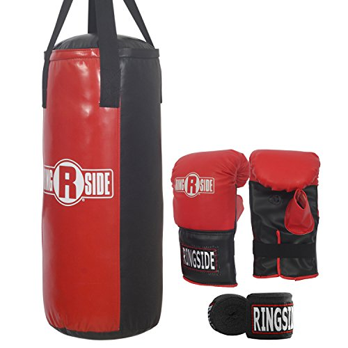 Ringside Boxing Youth Heavy Bag Kit (40 lb.), One Size (HBKY)
