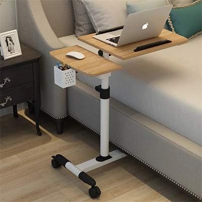 Mesa plegable parto normal de tabla plegable del ordenador portátil de la tabla ajustable escritorio del ordenador portátil del ordenador portátil Rotar cama puede ser levantadas de pie turística