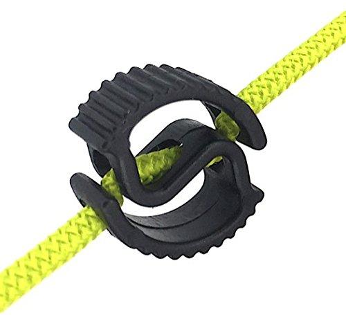Kabelbinder/koordsysteem spiraal van Readylace (gepatenteerd) x 5 stuks (kleur zwart)