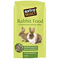 Extra Select Premium Mix with Dried Grass Rabbit Feed, 12.5 kg