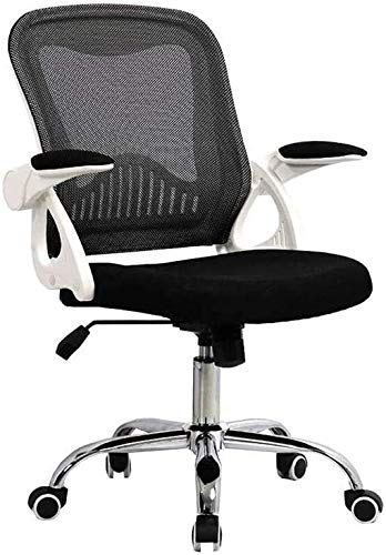 WYL Ergonomic 360 Degree Swivel Office Chair ,Executive Mesh Chair Rotating Handrail Height Adjustment Computer Chair , Durable Strong