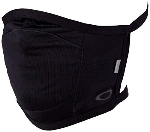 Oakley unisex adult Aoo9715 Protective Face Mask Fashion Scarf, Blackout, Large X-Large US