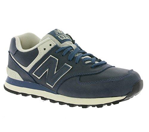 New Balance 574, Zapatillas de Running de Entrenamiento para Hombre, Azul (Azul),...