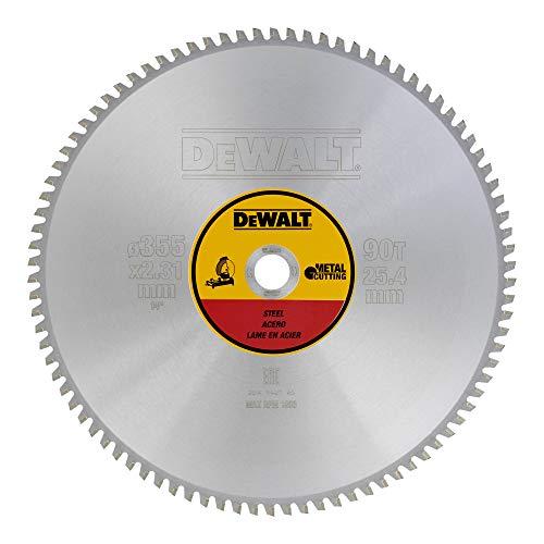 Dewalt DT1927-QZ metalen cirkelzaagblad 355/25,4 90TFZ, voor metaal/staal