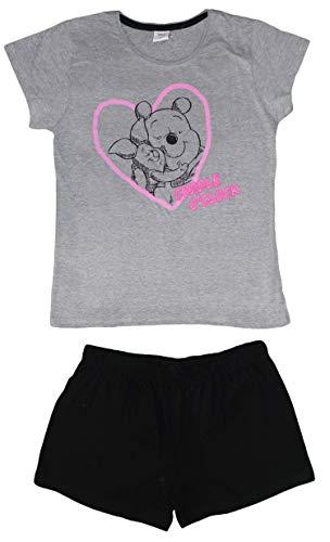 Disney Winnie The Pooh Pijama Corto Mujer 'Cuddle