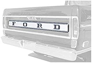 MACs Auto Parts 48-42398 Pickup Truck Tailgate Finish Panel - F100 & F250 Styleside Bed - Sport Custom Only