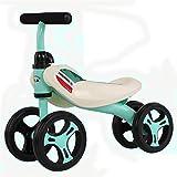 GJNWRQCY Baby-Laufräder Fahrrad-Baby-Wanderer Spielzeug Rides für 1 Jahr Jungen Mädchen 10 Monate-24 Monate des Babys erste Bike erste Geburtstags-Geschenk,Rot