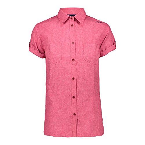 CMP Woman T-Shirt Ibisco Melange 40 Dahlia