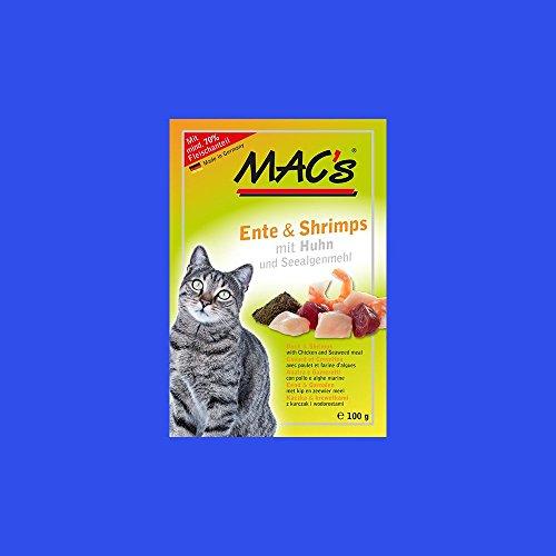Macs Cat Ente + Shrimps 100g Frischebeutel