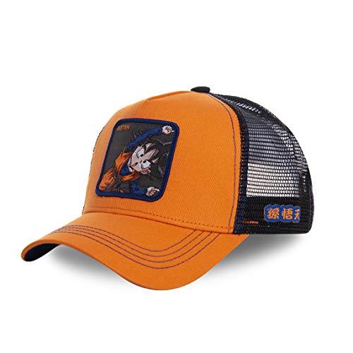 Capslab - Gorra de béisbol, de camionero, de Dragon Ball Z Goten...