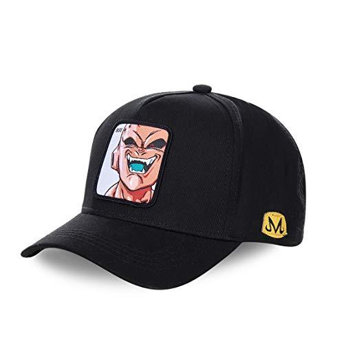 CAPSLAB Gorra de béisbol para Hombre Dragon Ball Z (Buu (Negro))