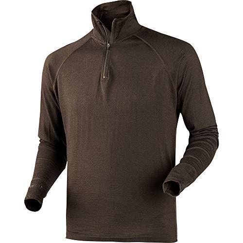 Harkila toutes saisons-Shirt à col zippé - Marron - Large