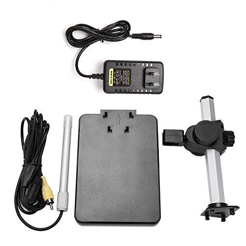 Microscopio electrónico profesional Microscopio electrónico digital 600X Ampliador AV Salida para TV 110-240V(EU PLUG)