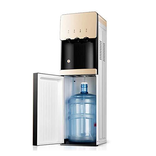 Relaxbx Vrijstaande Water Dispenser Met Bodem Fles Lading Warm En Koud, Waterkoeler Dispenser Rustig Voor Thuis Kantoor, Kinderen Veiligheidsslot En Smart Touch