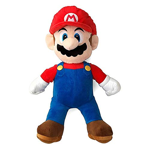 Super Mario Bros Standing Mario Plush Soft Toy Stuffed Animal Gift Figure 16inch