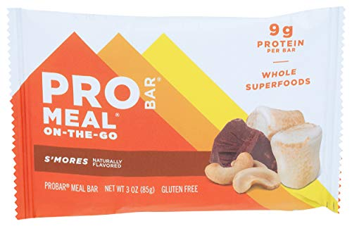PROBAR Organic S'mores Meal On-The-Go Bar, 3 OZ