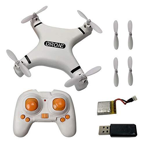 Mini drone telecomandato per bambini principianti, drone tascabile con modalità senza...