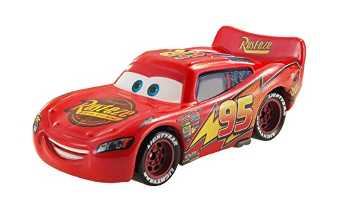 Mattel Disney Cars CKD16 - Die-Cast Farbwechsel Fahrzeug World Grand Prix Lightning McQueen