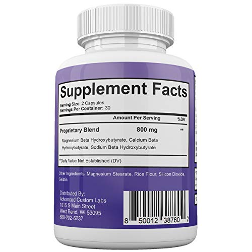 Keto BHB Fast - Advanced Weight Loss with Metabolic Ketosis Support - 180 Capsules - 90 Day Supply 3